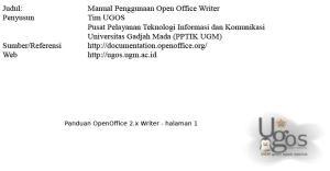 Materi OpenOffice.Org